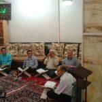 خاطره میهمان بودن در ماه میزبانی خدا / تصاویری از مسجد حافظ و حاج زینل بشنیغان در شهرستان میبد