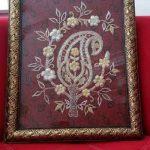 تصاویری زیبا از هنر سرمه دوزی و کار دست بر روی لباس