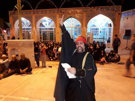 Photo of حضور کمدین ایرانی در مراسم تعزیه امام علی علیه السلامدر حسینیه مزرعه نو عقدا در اردکان
