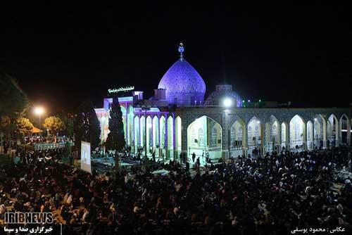 Photo of مراسم  احیاء شب بیست و سوم  ماه مبارک رمضان در یزد