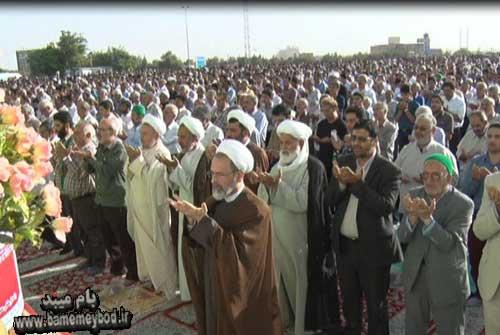 Photo of تصاویری از برگزاری نماز عید سعید فطر در شهرستان میبد