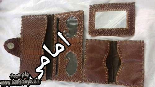 تصویر از تصاویری زیبا از هنر کار باچرم / کیف های چرمی