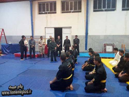 Photo of اهدای حکم رزمی  رزمی کاران کلاس رزمیپایگاه محمد رسول الله(ص) در شهرستان میبد