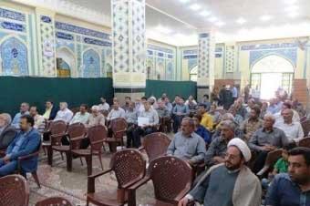 تصویر از همایش هیئت امنای بِقا و امامزاده های استان یزد در شهرستان میبد