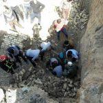یک کشته و دو مجروح سرانجام ریزش دیوار در خیابان کاشانی یزد