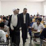 تصاویری از حضور دانش آموزان میبدی در رقابت های کنکور ۹۶