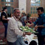 تصاویری از پذیرایی  در مسجد جامع شهرستان میبد