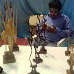 تصاویری از دهمین نمایشگاه سراسری صنایع دستی در استان یزد