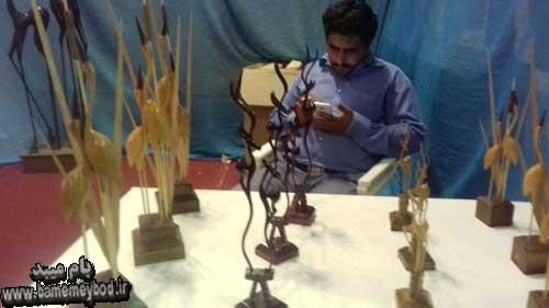 Photo of تصاویری از دهمین نمایشگاه سراسری صنایع دستی در استان یزد