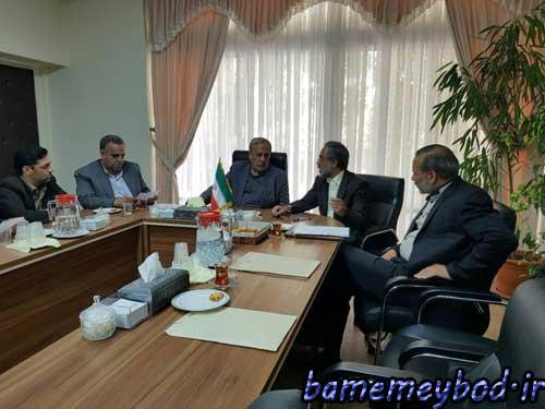 تصویر از رایزنی های نماینده مردم تفت و میبد در مجلس شورای اسلامی با مسئولین کشوری