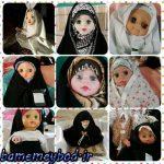 برگزاری همایش عروسکهای بهشتی در شهرستان میبد / تصاویری از  عروسکهای بهشتی