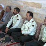 فرماندارمیبد با خانوادههای شهدای نیروی انتظامی دیدار کرد