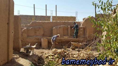 تصویر از مرمت و بازسازی خانه تاریخی حسینی در شهرستان میبد