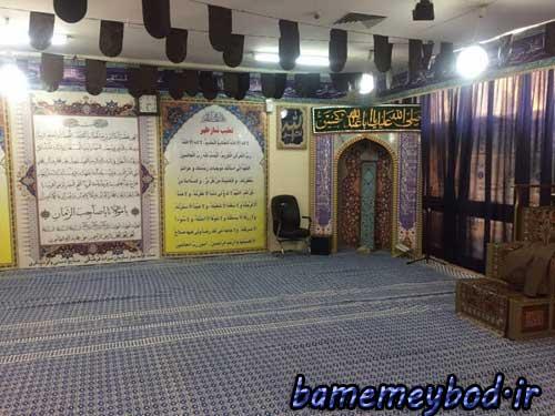 تصویر از نمازخانه سازمان میراث فرهنگی کشور به زیلوی بافت میبد مفروش شد