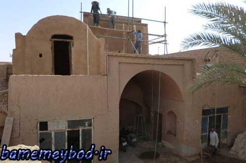 تصویر از خانه تاریخی کریم بیکی در شهرستان میبد مرمت و بازسازی می گردد
