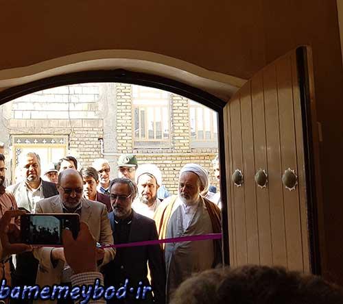 تصویر از افتتاح دفتر خبری در شهرستان میبد