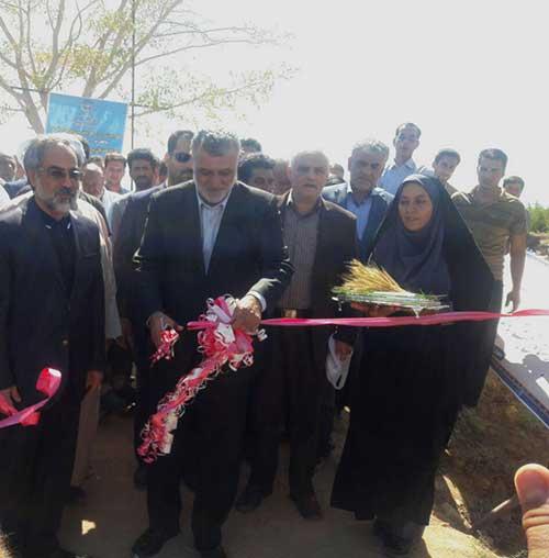 تصویر از بزرگترین پروژه آبیاری نوین استان یزد با حضور وزیر کشاورزی افتتاح گردید