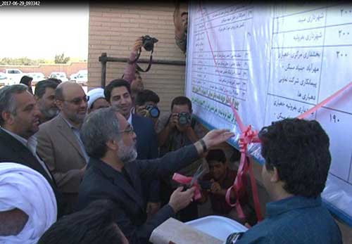 تصویر از ۵۲ پروژه عمرانی فرهنگی و صنعتی در شهرستان میبد افتتاح شد