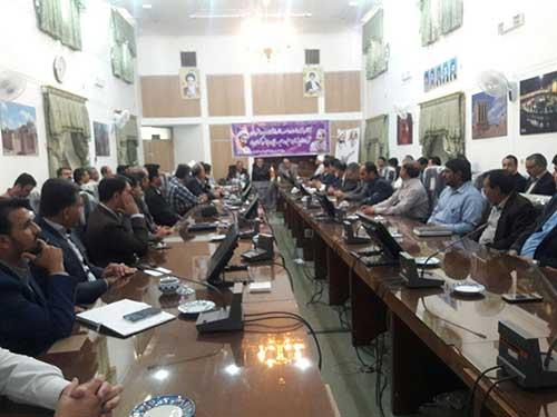 Photo of برگزاری جلسه شورای اداری شهرستان میبد به مناسبت هفته دولت