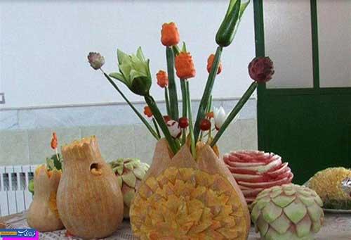 تصویر از آشنایی بانوان با اصلاح الگوی مصرف مواد غذایی و سفرهآرایی