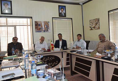 تصویر از برگزاری جلسه حسابرسی شورای شهر و شهرداری میبد