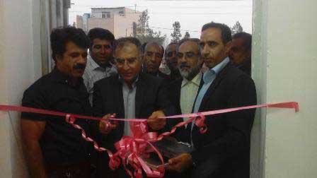 تصویر از افتتاح دفتر هیات فوتبال شهرستان میبد