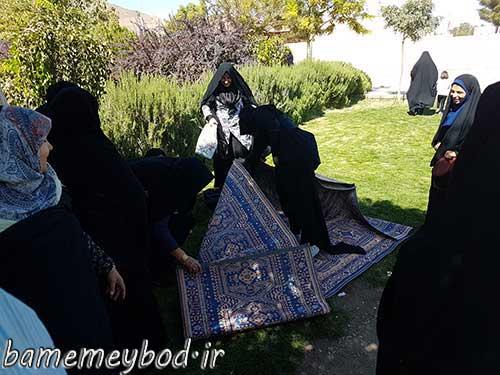 Photo of برگزاری اردوی یک روزه جهادی بانوان بسیجی حوزه خدیجه کبری شهرستان میبد در شهر ندوشن