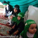 برگزاری همایش جهانی شیر خوارگان حسینی در مصلی آیت الله اعرافی شهرستان میبد