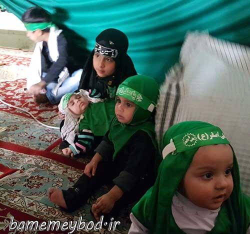 تصویر از برگزاری همایش جهانی شیر خوارگان حسینی در مصلی آیت الله اعرافی شهرستان میبد