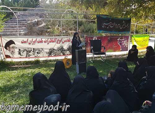تصویر از برگزاری همایش رهروان زینبی در شهرستان میبد / تجدید میثاق بانوان بسیجی با حضرت زینب (س) در حفظ عفاف و حجاب