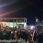 تصاویری از شب عاشورا در امامزاده سید صدر الدین قنبر شهرستان میبد قسمت دوم