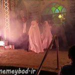 جشن با شکوه ترنم غدیر در امامزاده سید صدرالدین قنبر میبد برگزار شد