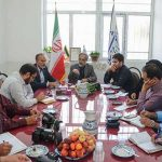 برگزاری اولین نشست خبری دکتر دهقانی نماینده مردم تفت و میبد با رسانه های شهرستان میبد