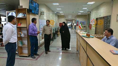 تصویر از بازدید اعضای کمیسیون فرهنگی شورای شهر از کتابخانه مرکزی میبد