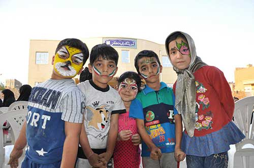 تصویر از جشنواره کودکانه غدیر در شهرستان میبد برگزار شد