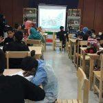 برگزاری مسابقه نقاشی در کتابخانه مرکزی میبد به مناسبت هفته دفاع مقدس