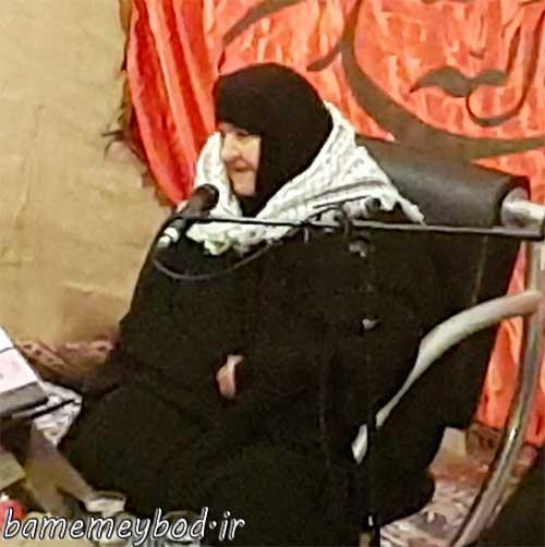 Photo of سخنرانی مادر چهار شهید در مراسم گرامیداشت دهه امامت و ولایت در شهرستان میبد