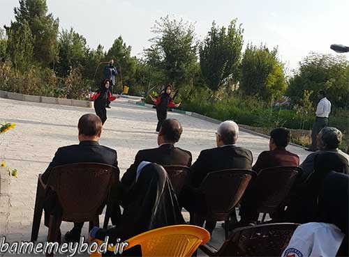 تصویر از افتتاح طرح چهارشنبه های با نشاط با محوریت ورزش صبحگاهی در شهرستان میبد