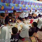 برگزاری مراسم افتتاح غذای گرم در روستا مهد شکوفه بهشت بفروئیه /تضمین سلامت فرزندان با فرهنگ سازی و آموزش نحوه صحیح غذا خوردن