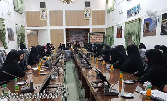 Photo of برگزاری اولین جلسه شورای مشورتی بانوان شهرستان میبد