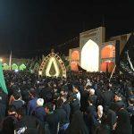 تصاویری از شب عاشورا در امامزاده سید صدر الدین قنبر شهرستان میبد قسمت اول