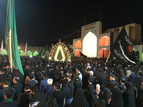 Photo of تصاویری از شب عاشورا در امامزاده سید صدر الدین قنبر شهرستان میبد قسمت اول
