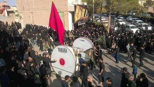 تصویر از تصاویری از روز عاشورا در شهرستان میبد