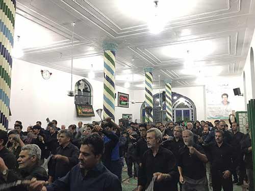 تصویر از برگزاری مراسم شب شهادت امام سجاد (ع) در اشنیز
