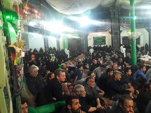 Photo of برگزاری مراسم عزاداری در امامزاده میر شمس الحق شهرستان میبد