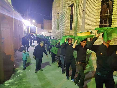 Photo of برگزاری مراسم سفره حضرت رقیه (س) در شهرستان میبد