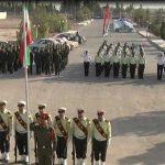 صبحگاه مشترک نیروهای مسلح به مناسبت هفته ناجا در میبد/ آمار تصادفات در میبد نگران کننده می باشد