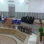 بازدید دانش آموزان دبستان حاج غلامحسین زهرایی شهرستان میبد از زورخانه بشنیغان