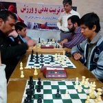 برگزاری مسابقات شطرنج به مناسبت هفته تربیت بدنی در شهرستان میبد