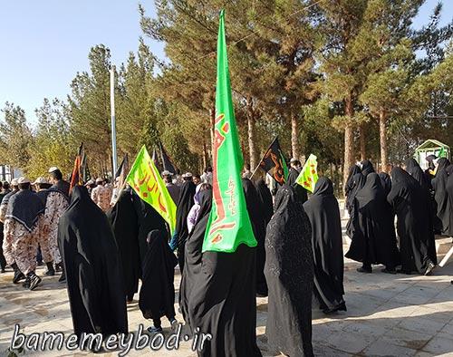 Photo of مراسم پیاده روی اربعین با گرامیداشت اربعین حسینی در شهرستان میبد برگزار شد